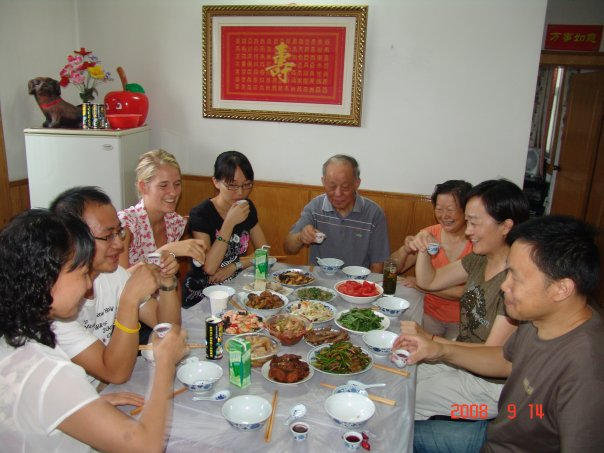 mid autumn moon festival dinner china